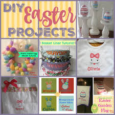 diy easter projects gathered in the kitchen