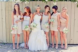 bridesmaid dress ideas picture of trendy mismatched bridesmaids dresses ideas