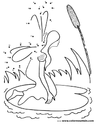 dot coloring pages fairy dot to dot coloring page create a printout or activity