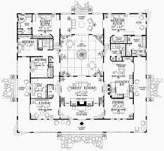 architectural plans spanish villas home pattern