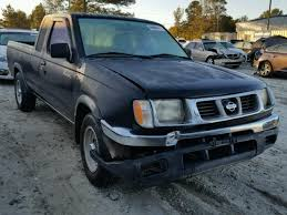 1999 Nissan Frontier Interior Salvage Nissan Frontier For Sale At Copart Auto Auction