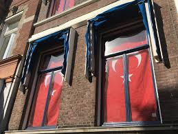 Flag Hanging Turkey Vows To Improve Ties With The Netherlands Turkish Media