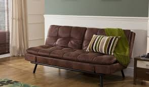 Faux Leather Sofa Sleeper Faux Leather Sofa Bed Bensons For Beds In Brown Design 16