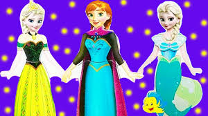 frozen disney princess dress up elsa anna ariel cinderella wooden