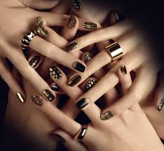 black nail art designs for short nails with white styloss com