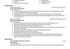 Data Entry Resume Extraordinary Data Entry Resume 7 Unforgettable Data Entry Resume