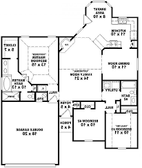 Two Bedroom House Plan Home Design 3 Bedroom House Plans 2 Story Arts Intended For Bath