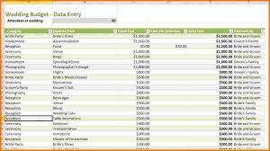 wedding budget 4 wedding budget excel expense report