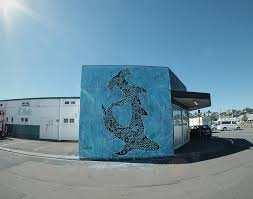 supersonic art pangeaseed x sea walls murals for oceans new noelle anderson sharks regardless of species type are depicted and presented to us as dangerous a personal threat to our safety