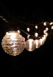 solar string lights for the garden home outdoor decoration