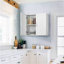 kitchen wall mounted cabinets smilemart adjustable wall mounted cabinet for bathroom kitchen laundry white
