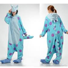 sulley animal onesies pajamas for onesies costumes