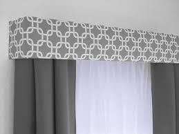 Nursery Valance Curtains Custom Cornice Board Valance Box Window Treatment Custom