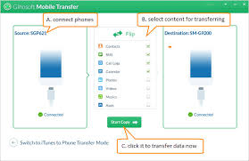 how to copy contacts from android to iphone gihosoft phone to phone transfer software is recommended to