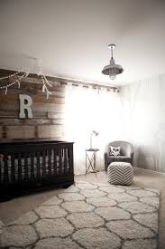 Reclaimed Wood Paneling One Bedroom Wall Best 25 Wood Wall Nursery Ideas Only On Pinterest Master