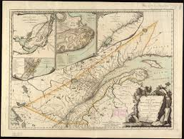 Map Of Quebec Province A New Map Of The Province Of Quebec According To The Royal