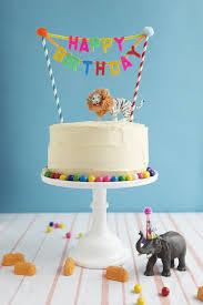 birthday cake toppers carnival cake topper diy