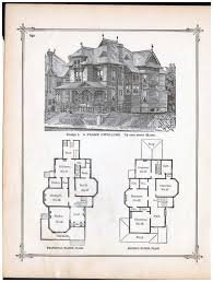 Victorian House Plan House Plans 1902 Victorian House Design Home Plans With Walkout