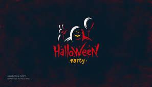 halloween types background halloween logotypes on behance