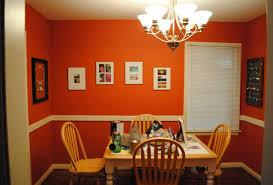 Home Interior Design Pictures Interior Fascinating Home Interior Design With Orange Wall Paint