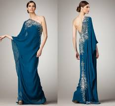 maternity evening wear online arabic dresses evening wear one shoulder crystals beaded