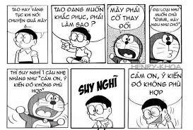 hai che do re mon phan 1 ảnh chế doremon nobita 1 truyen cuoi truyện cười cực hay