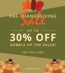 uniwigs thanksgiving sale 2017 uniwigs official