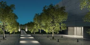 Landscape Lighting Designer Erco Discovering Light Outdoor Lighting Design Examples