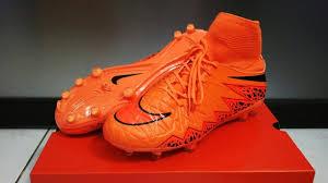 Sepatu Bola Grade Ori sepatu bola nike hypervenom ii orange flyknit terbaru dan termurah