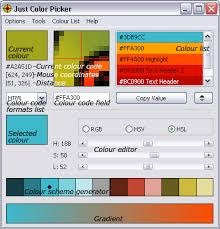 list of colours just color picker a handy tool for artists