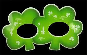 assorted glowing irish st patrick u0027s day mask