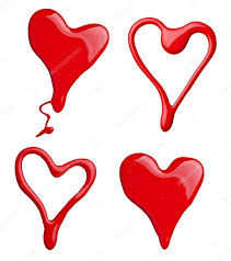 nail polish paint heart shape love u2014 stock photo picsfive 10252335