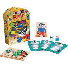 amazon com educational insights raccoon rumpus game toys u0026 games