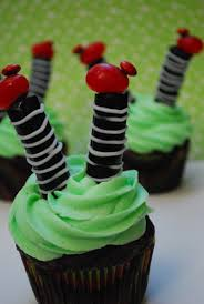 wicked witch cupcakes u2013 halloween week the domestic rebel