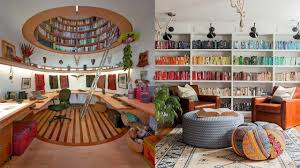 stunning space saving home library design ideas clever space