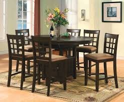 Lazy Susan Kitchen Table by Dining Tables 9 Piece Square Dining Set Counter Height Kitchen