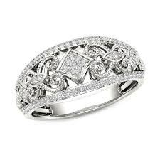 square style rings images 1 5 ct t w composite diamond vintage style tilted square jpg