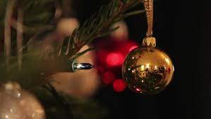 Brown Christmas Tree Decorations Uk by Baubles Fairy Lights U0026 Decorations On A Christmas Tree