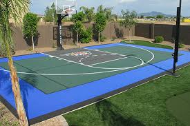 Backyard Pool And Basketball Court Creative Decoration Backyard Basketball Court Adorable Dallas