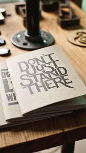 book wallpaper don u0027t just stand there book typography iphone 6 hd wallpaper hd