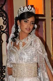 robe mariage marocain bijoux orientaux assortie pour robe de mariée blanche mariage marocain