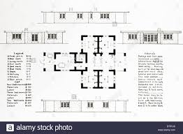 floor plans rambler style house stock photo royalty free image
