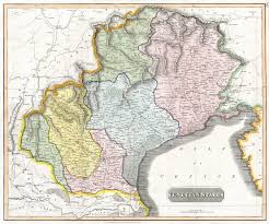 Map Of Venice File 1814 Thomson Map Of The Venetian States Venice Italy