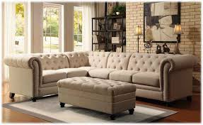 Tufted Sectional Sofa Chaise Popular Living Room Sofa Beds Design Stunning Modern Tufted