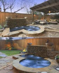 Pool Ideas For Small Backyard by 44 Best Spools U0026 Cocktail Pools Images On Pinterest Small Pools