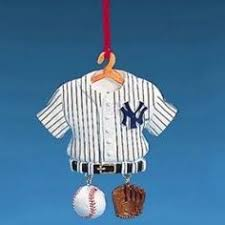 new york yankees gingerbread ornaments by forever collectibles