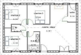 plan de maison 3 chambres salon nouveau plan maison 2 chambres plain pied gratuit idées de décoration