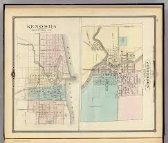 Kenosha Map Plan Of Jefferson Kenosha David Rumsey Historical Map Collection