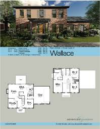 2 story colonial house plans story colonial house plan wallace