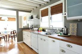 Metal Cabinets For Kitchen Painting Metal Kitchen Cabinets The Cool Kitchen